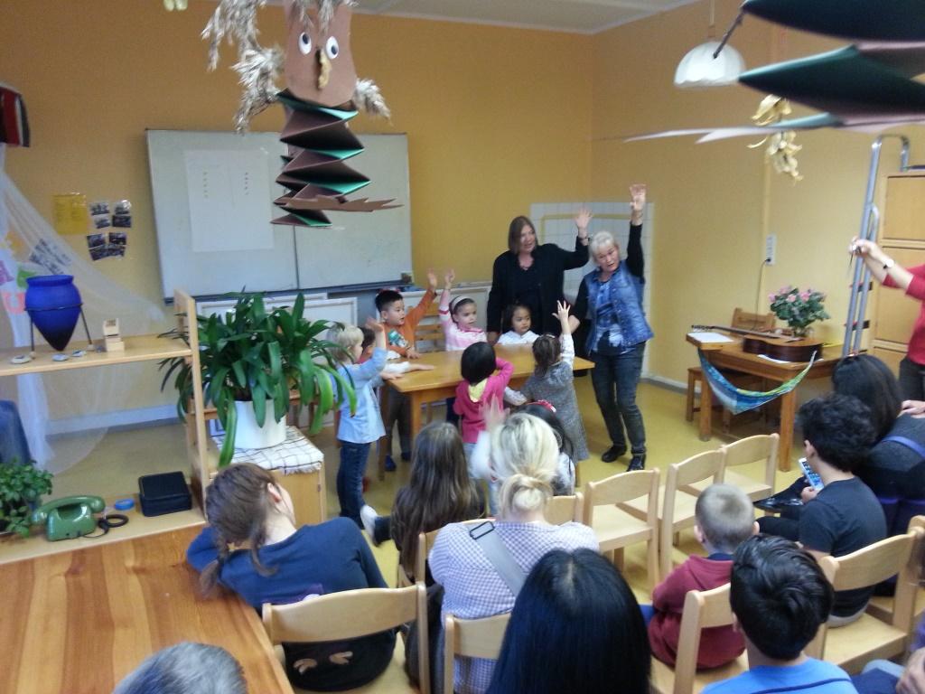 Jurte Kunterbunt - Kinder, Eltern und Pädagogen feierten zusammen ...